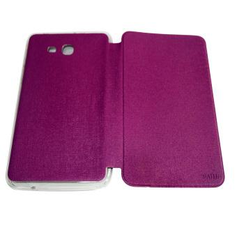 Aimi Leather Case Sarung Untuk Samsung Galaxy Tab 3 Lite T110/T111/Tab 3