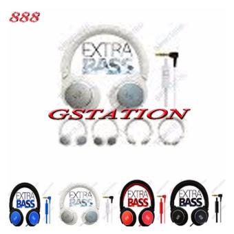 Harga Gstation 888 Stereo Headphones Bass Booster
