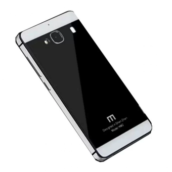 Harga Hardcase Aluminium Tempered Glass Series For Xiaomi Redmi 2 Prime - Black White