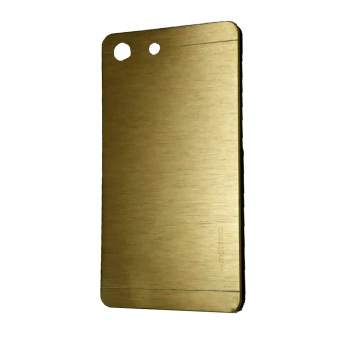 Harga Motomo Sony Xperia M5 Metal Hardcase / Metal Back Cover / Hardcase Backcase / Metal Case - Gold