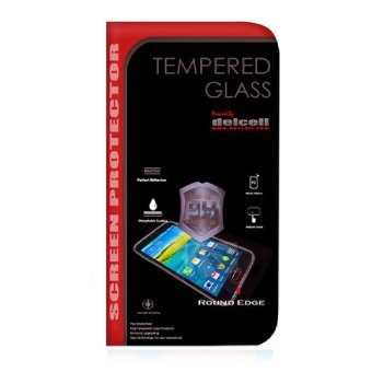 Harga Delcell Tempered Glass Anti Gores Kaca For Dellcell Tempered Glass Galaxy A800 - Clear