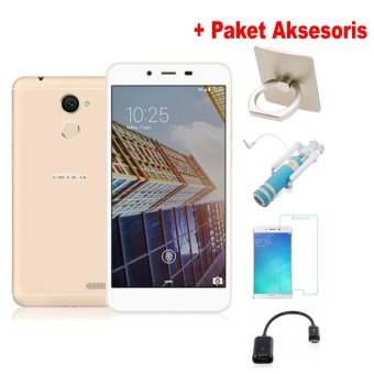 Harga Himax H3 Plus - 13/5MP - 3/16GB - Rose Gold+Free Gift