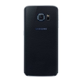 Harga 9Skin 3M Skin Protector Samsung S6 Edge Leather Texture Made in Japan - Hitam