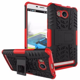 TPU + PC Armor Hybrid Case Cover for Lenovo A7700 - intl