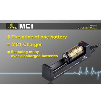 Xtar MC1 Battery Charger For Li-ion