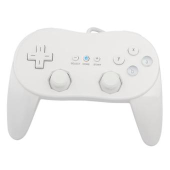 Professional Classic Game Controller for Nintendo Wii - White
