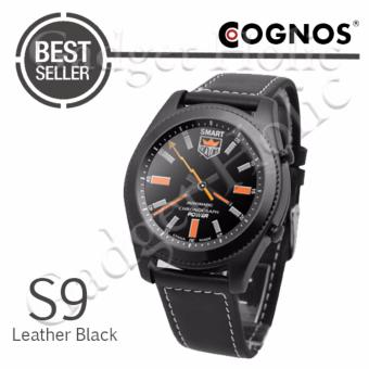 Harga Cognos Smartwatch S9 - Heart Rate - Leather Black