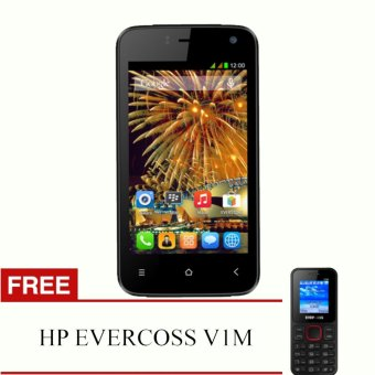 Harga Evercoss Winner T2 R40G - RAM 512 + FREE HP EVERCOSS V1M