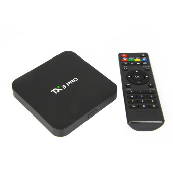 Harga TX3 Pro 4K Amlogic S905X Android TV Box Marshmallow