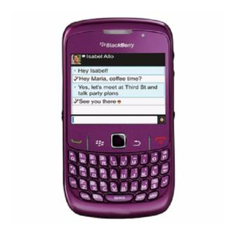 Harga Refurbished Blackberry 8530 CDMA Ungu - Grade A