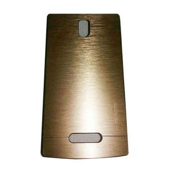 Harga Motomo Lenovo A2010 Metal Hardcase / Metal Back Cover / Hardcase Backcase / Metal Case - Gold