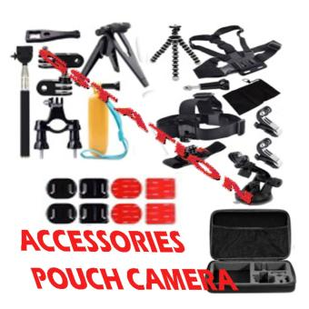 Harga GStation Accessories Bundle Kit for Gopro Sports Xiaomi Camera