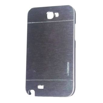 Harga Motomo Samsung Galaxy Note 2 / N7100 Metal Hardcase / Metal Back Cover / Hardcase Backcase / Metal Case - Silver