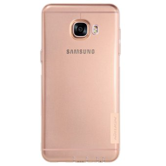 Harga Nillkin Samsung Galaxy C5 C5000 Nature TPU Jelly Soft Case Original Transparent - Coklat