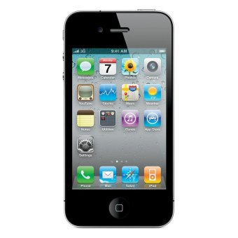 Harga Apple Iphone 4 Smartfen CDMA - 32 GB - Hitam