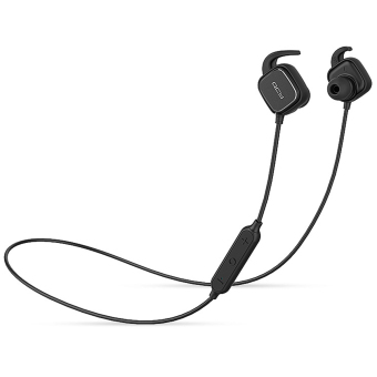 Harga QCY QY12 Bluetooth 4,1 olahraga nirkabel Stereo earphone dengan mikrofon - hitam - International