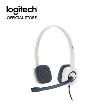 Harga Logitech H150 Stereo Headset (Cloud White)