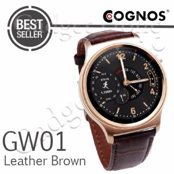Harga Cognos Smartwatch GW01 - GSM - Heart Rate - Leather Brown