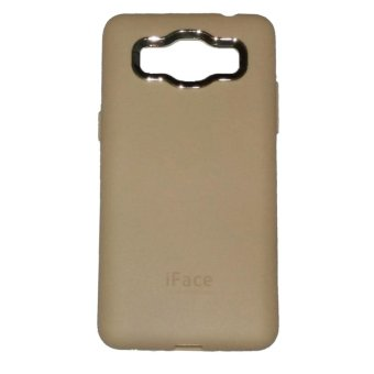 Harga iFace Samsung Galaxy J1 ACE / J110 Softshell/Softcase/Silicon - Gold