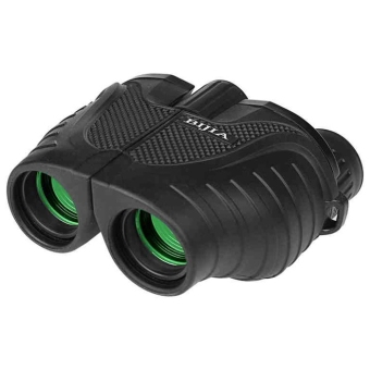 Harga BIJIA Porro BAK4 Prism 10 x 25 Night Vision Binoculars 158m / 1000m Ultra-clear Telescopes (Black)