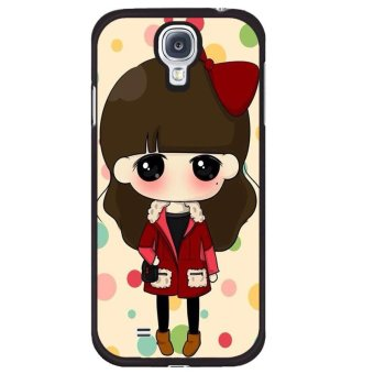 Cartoon beautiful goddess pattern Phone Case For Samsung Galaxy Mega 6 3 Multicolor .