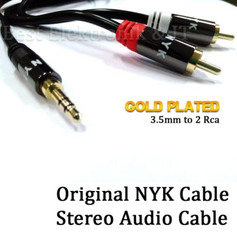 Harga Nyk Kabel Jack Audio Stereo 3.5mm to RCA 2