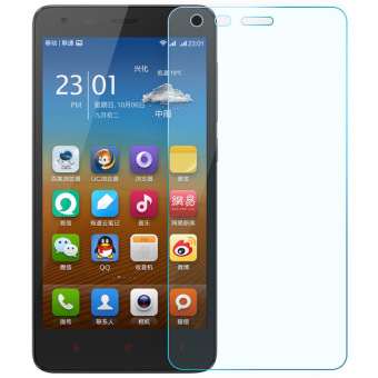 Harga Accessories Hp PrimeTempered Glass - 9H Rounded Edge - 0.33mm - Clear for Xiaomi Redmi 2