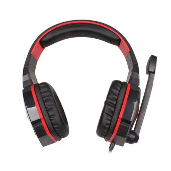 Harga EACH Stereo Gaming Headphone with Mic Volume (Black)
