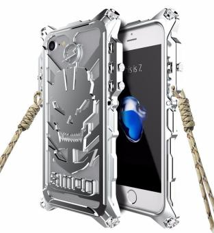 Harga Heavy Metal Body Mechanical Arm Quality Aluminum Anti-knock Cover Phone Cases For iphone 5 - intl