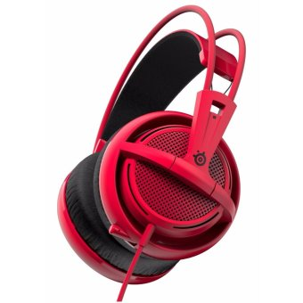 Harga SteelSeries Siberia 200 Gaming Headset - Forged Red