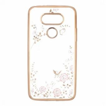 LG TPU silicon case cover for LG G5 cover cases (Gold)