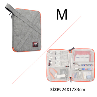 ... Harga Bubm Waterproof Electronics Accessories Carry Case Travel Source BUBM Double Layers Handy Travel Gadget Organizer
