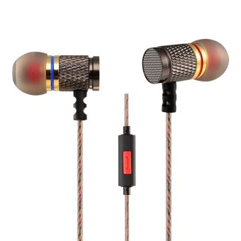 Harga Knowledge Zenith Special Edition 7mm In-Ear Earphones Dual Magnetic Sound Unit with Microphone - KZ-EDR1 - Multi-Color