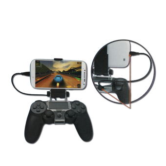 Harga LYBALL Bluetooth Bracket Controller Gamepad Mount For Sony PS4 Samsung HTC Android Smartphone With Cable