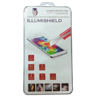 Harga illumishield Tempered Glass Sony Xperia Z1 Compact / Mini Depan + Belakang / Front + Back Bening / Clear