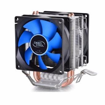 Deepcool Mini Shim CPU kipas pendingin ganda untuk Intel LGA775/1156/1155 - International