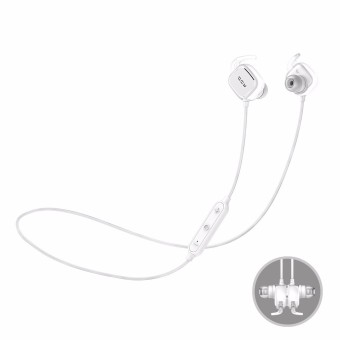 Harga QCY QY12 Sport Magnetic Adsorption Stereo Wireless Bluetooth 4.1 Headphone Earphone - intl