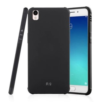 Harga Simple Fashion Silicone Back Cover Case For Oppo F1 Plus / Oppo R9 (Black) - intl