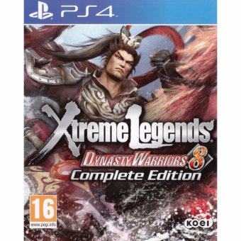 Harga Sony PS4 Games Dynasty Warriors 8: Xtreme Legends Complete Edition