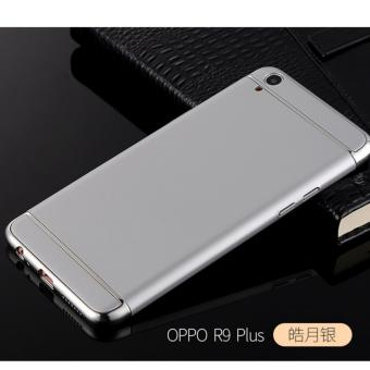 Harga 3 in 1 PC Protective Back Cover Case For Oppo F1 Plus / Oppo R9 (Silver) - intl