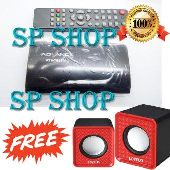 Harga SP TV Tuner Advance ATV-798FM LED LCD TV Box