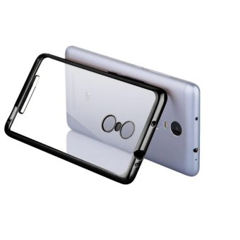 Harga Case Shining Chrome Softcase Oppo Find 5 Mini R827 - Black