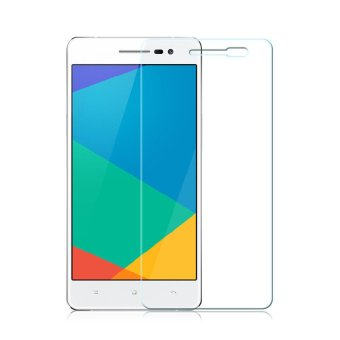 Harga Oppo R7 / Lite / R7F Tempered Glass Screen Protector 0.32mm - Anti Crash Film - Bening