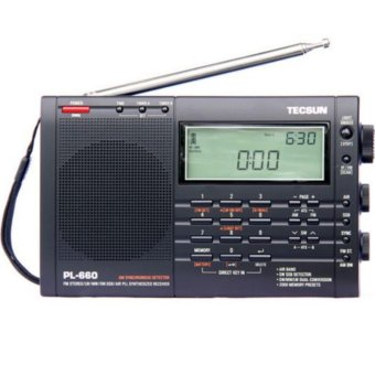 Harga TECSUN full band FM/AM radio receiver PL-660 - intl