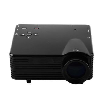 Harga Mini Portable Projector LED 100 Lumens, Analog TV + SD Card/USB Port Support 480x320P - GP7S