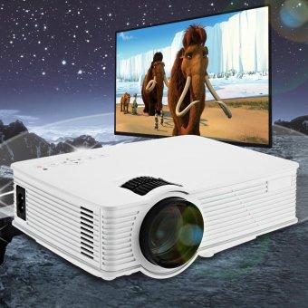 Harga GP9 2000 lumens LED Projetor Full HD 1080P Portable USB Cinema Home Theater Pico LCD Video Mini Projector Beamer GP-9 Proyector - intl
