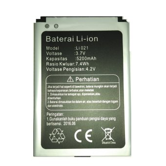 Harga BOLT Li021 Battery for Modem Bolt Orion 5200mAh
