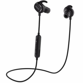 Harga QCY QY19 English Voice IPX4-rated Sweatproof Stereo Bluetooth Headphones Wireless Sports Earphones - intl