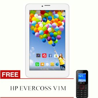 Harga Evercoss Winner Tab S3 Metal - AT7 - RAM 1GB + FREE EVERCOS V1M
