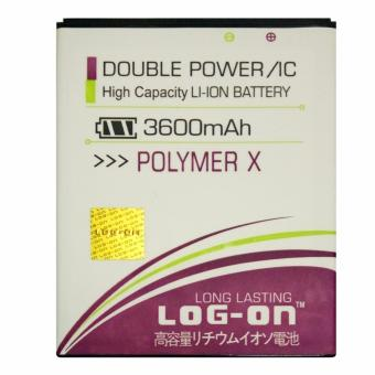 Harga Log On Himax Polymer X - Double Power Battery - 3600 mAh